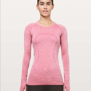 Swiftly Tech Long Sleeve Crew *Sparkle
